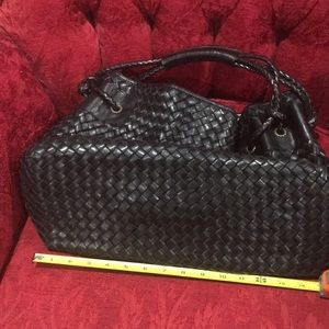 falor Bags - Italian leather handbag black